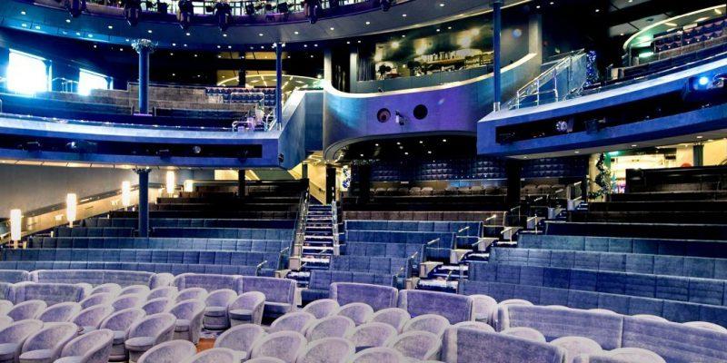 Three-tier Palladium theatre